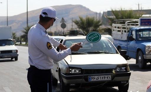 جریمه نشدن تردد خودروهای بومی برای کار ضروری در استان همدان