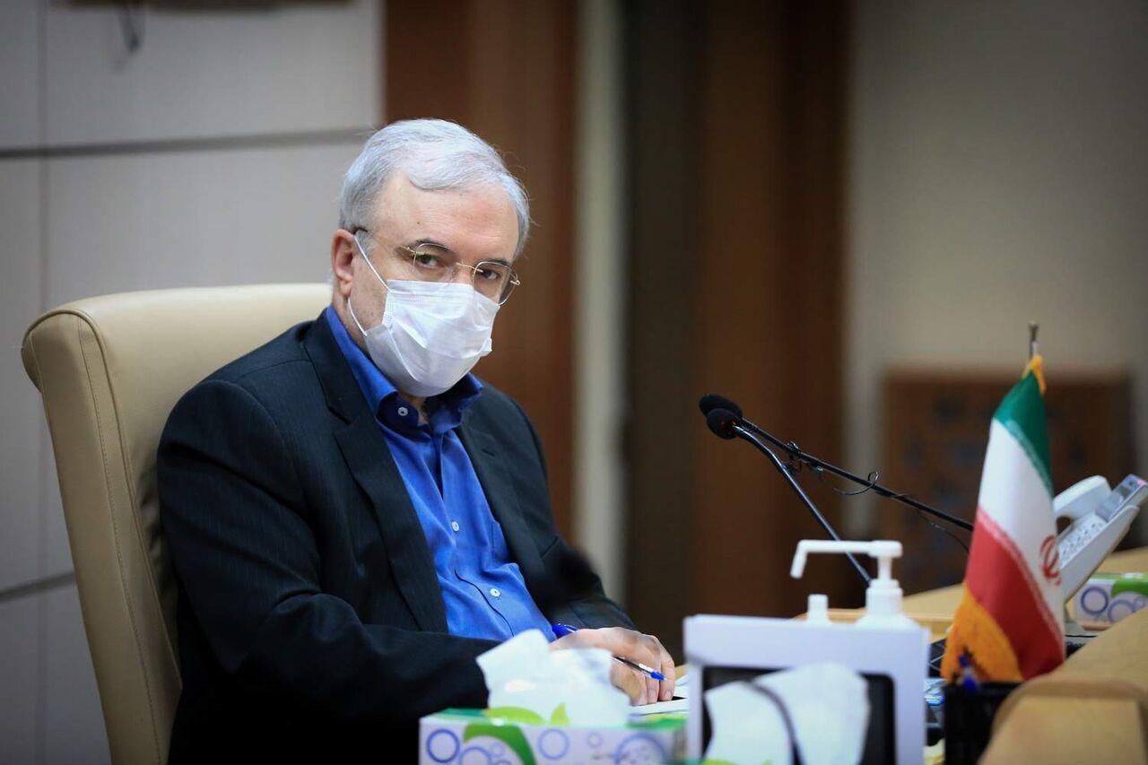 نمکی: مجوز تست انسانی واکسن ایرانی کرونا صادر شد