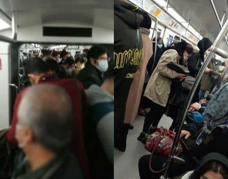 حال و هوای مترو تهران در تعطیلی ۲ هفتهای چگونه است؟ / مترو تهران؛ پناهگاهی برای مردم در اینروزهای تعطیل!