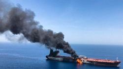انفجار نفتکش یونانی نزدیک بندر عربستان سعودی