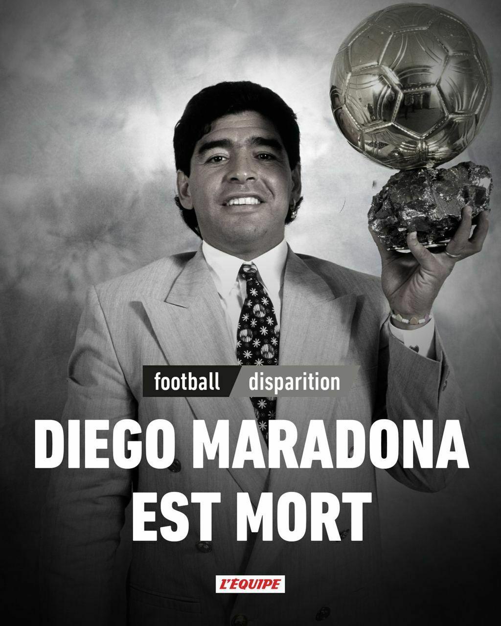 مارادونا درگذشت/ صعود و سقوط فرشته آرژانتینیها
