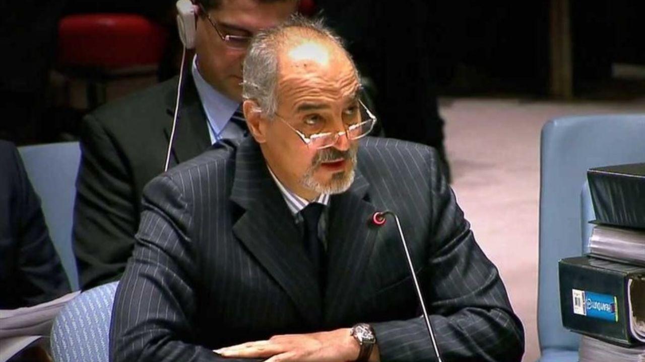 انتقاد بشار الجعفری از دیدار پمپئو از جولان اشغالی