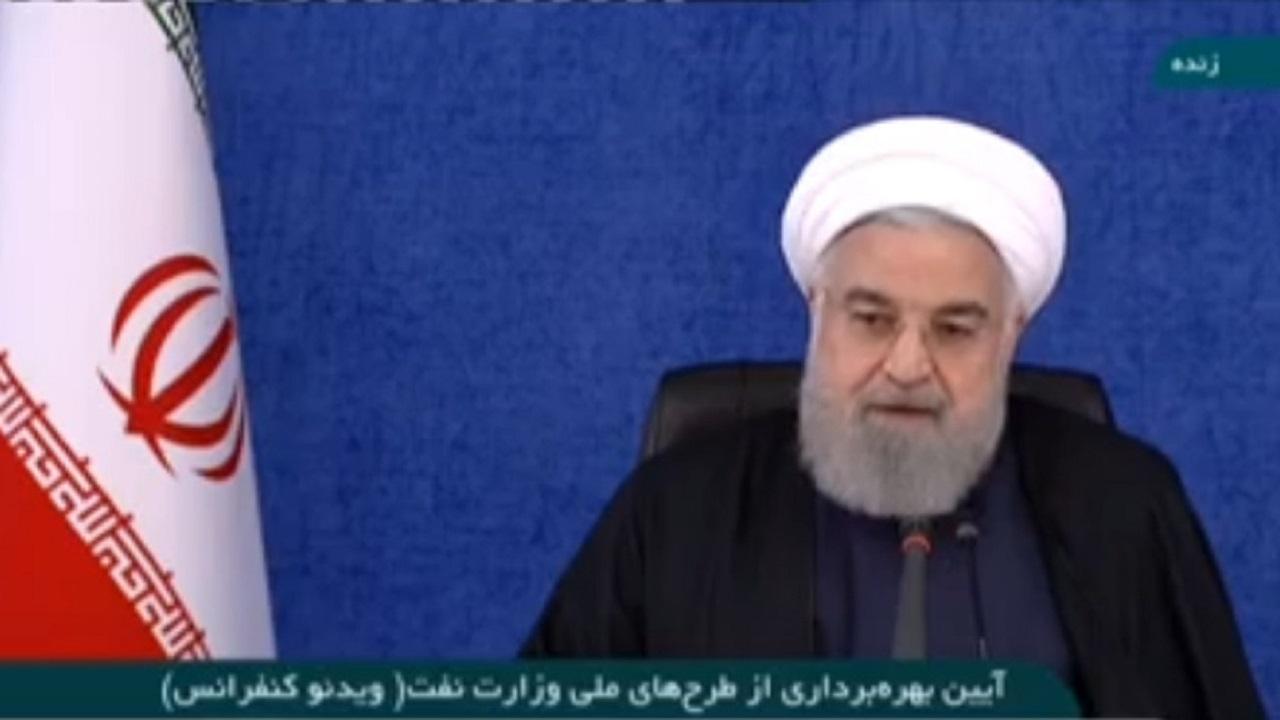 روحانی: طراحان تحریم علیه ملت ایران به زبالهدان تاریخ ریخته می شوند/ اقتصاد ایران بزرگ و مقاوم است