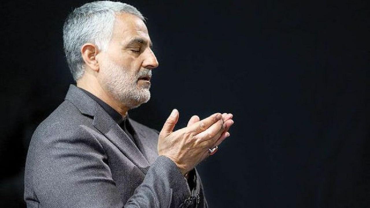 آخرین حضور شهید سلیمانی در حرم حضرت معصومه(س) + فیلم
