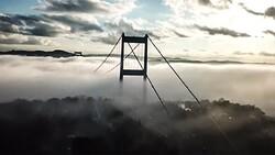 ناپدید شدن پل بسفر استانبول + فیلم