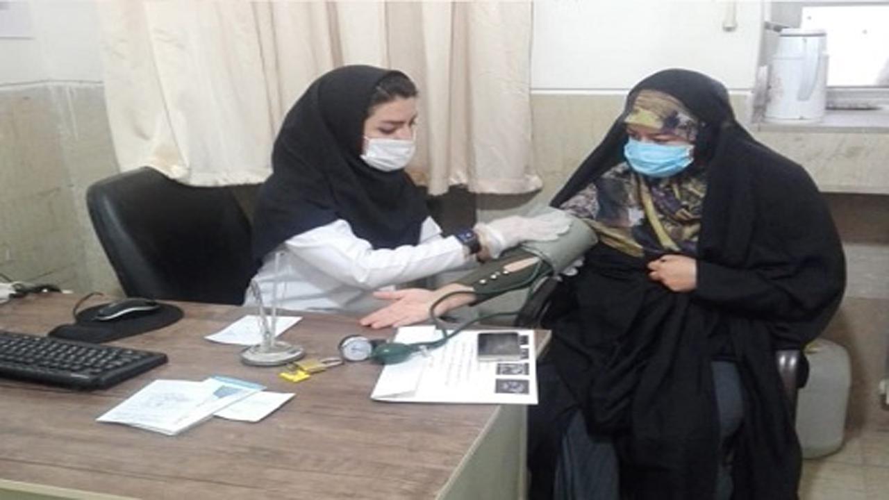 ارائه خدمات سفیران سلامت در مرودشت