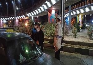 ورودی های شهر ملایر زیر ذره بین نیروی انتظامی
