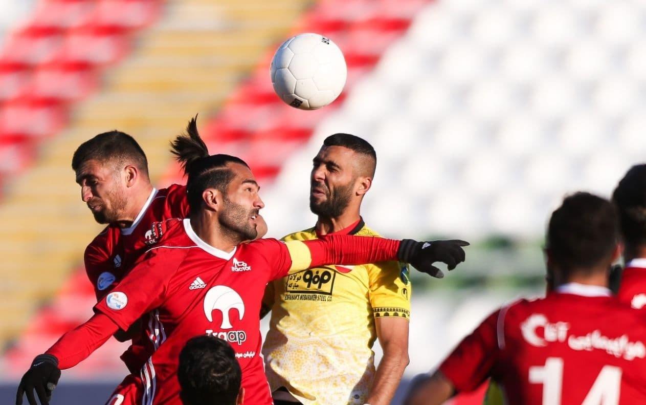 تراکتور صفر - سپاهان ۱ / علیمنصور همچنان در حسرت پیروزی در لیگ بیستم