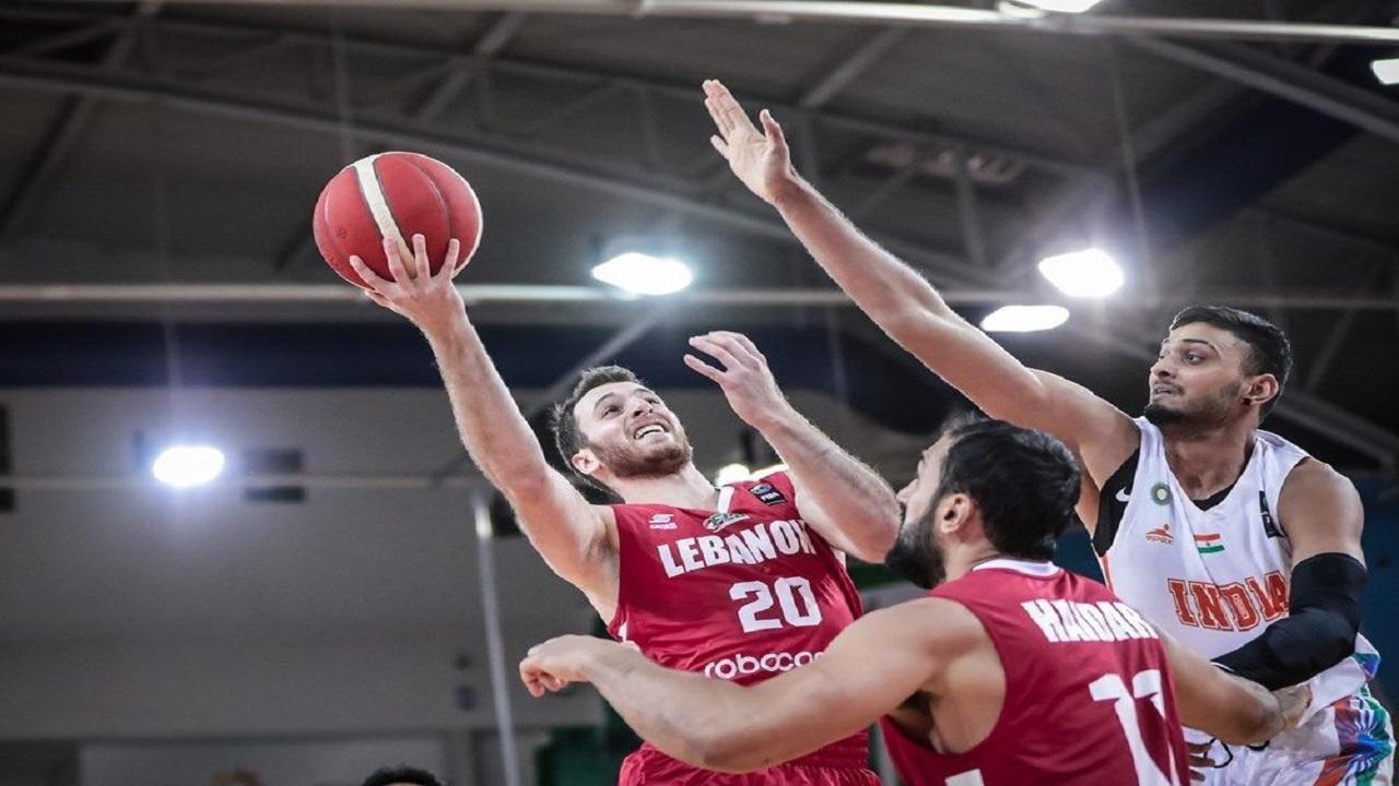پیروزی قاطع لبنان مقابل هند