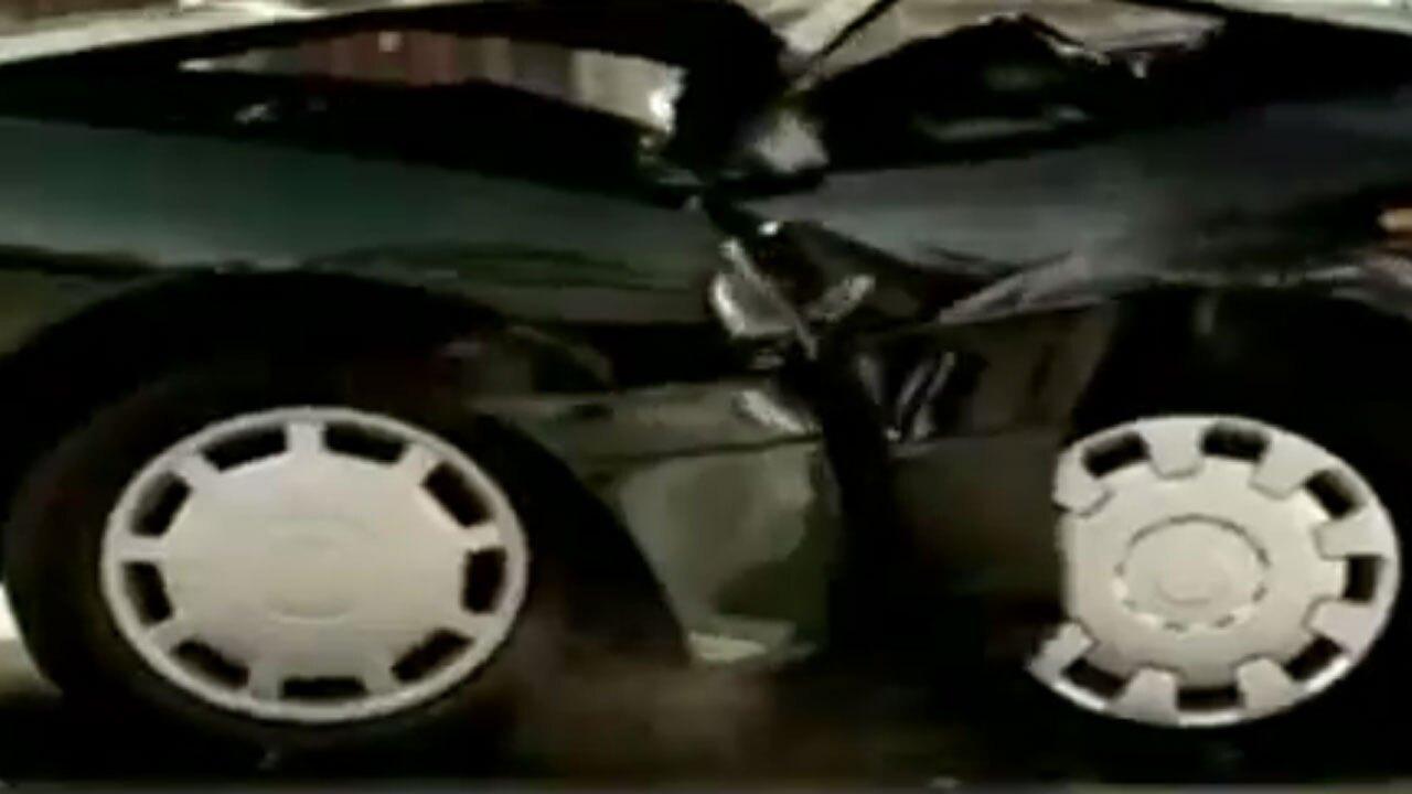 تاثیر حیرت انگیز بستن کمربند ایمنی در هنگام تصادف