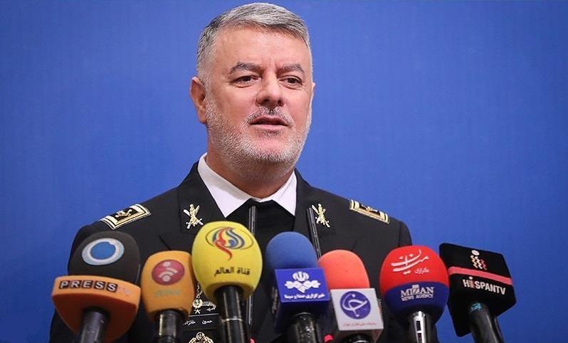 نشست خبری فرمانده نیروی دریایی ارتش آغاز شد