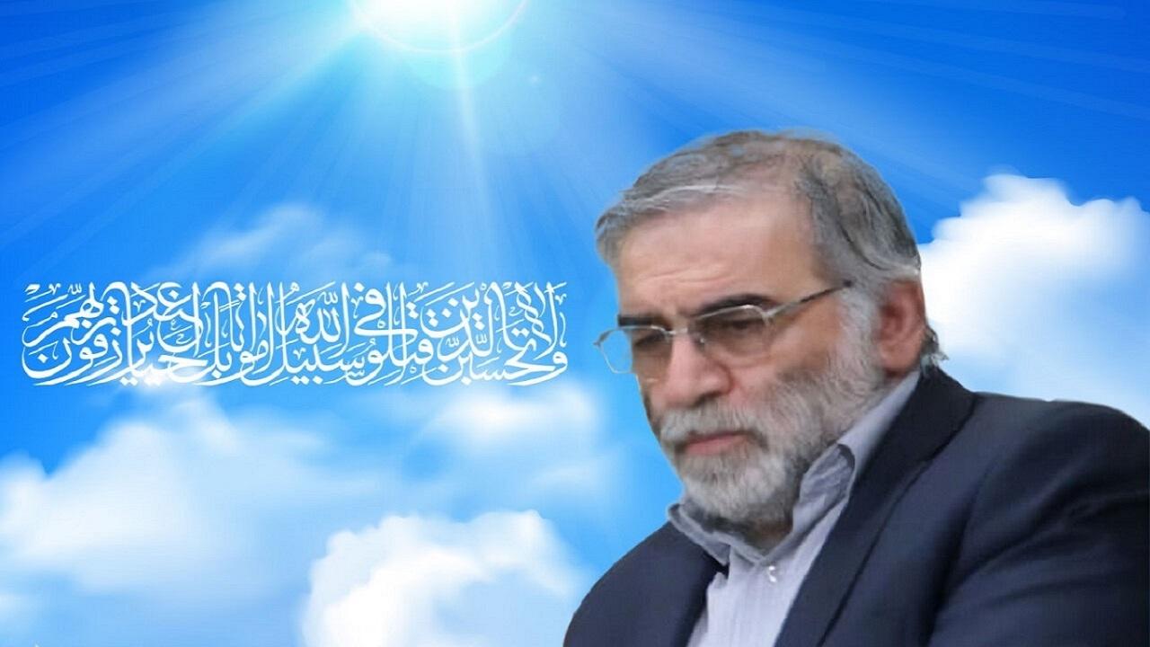 با شهادت شهید فخری زاده عزم و اتحاد مردم ایران برای پیشرفت دو چندان می شود