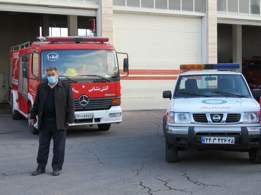 تمرین زلزله و ایمنی به صورت مجازی در مراغه برگزار شد