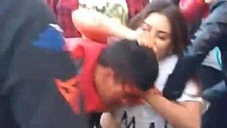 عاقبت سارق سیاهبختی که گیر دختر رزمیکار افتاد