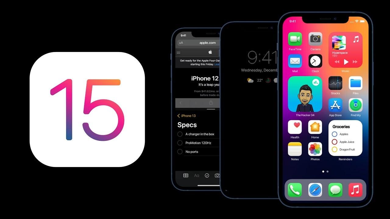 تاریخ عرضه سیستم عامل  iOS 15  و اطلاعات تکمیلی آن فاش شد