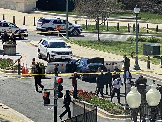 بسته شدن کنگره آمریکا به دلیل تهدید امنیتی