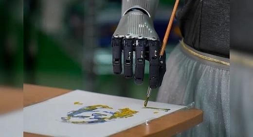 اثر هنر یک ربات که ۶۸۸ هزار دلار فروخته شد