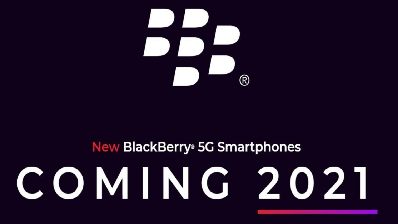 گوشی 5G بلک بری
