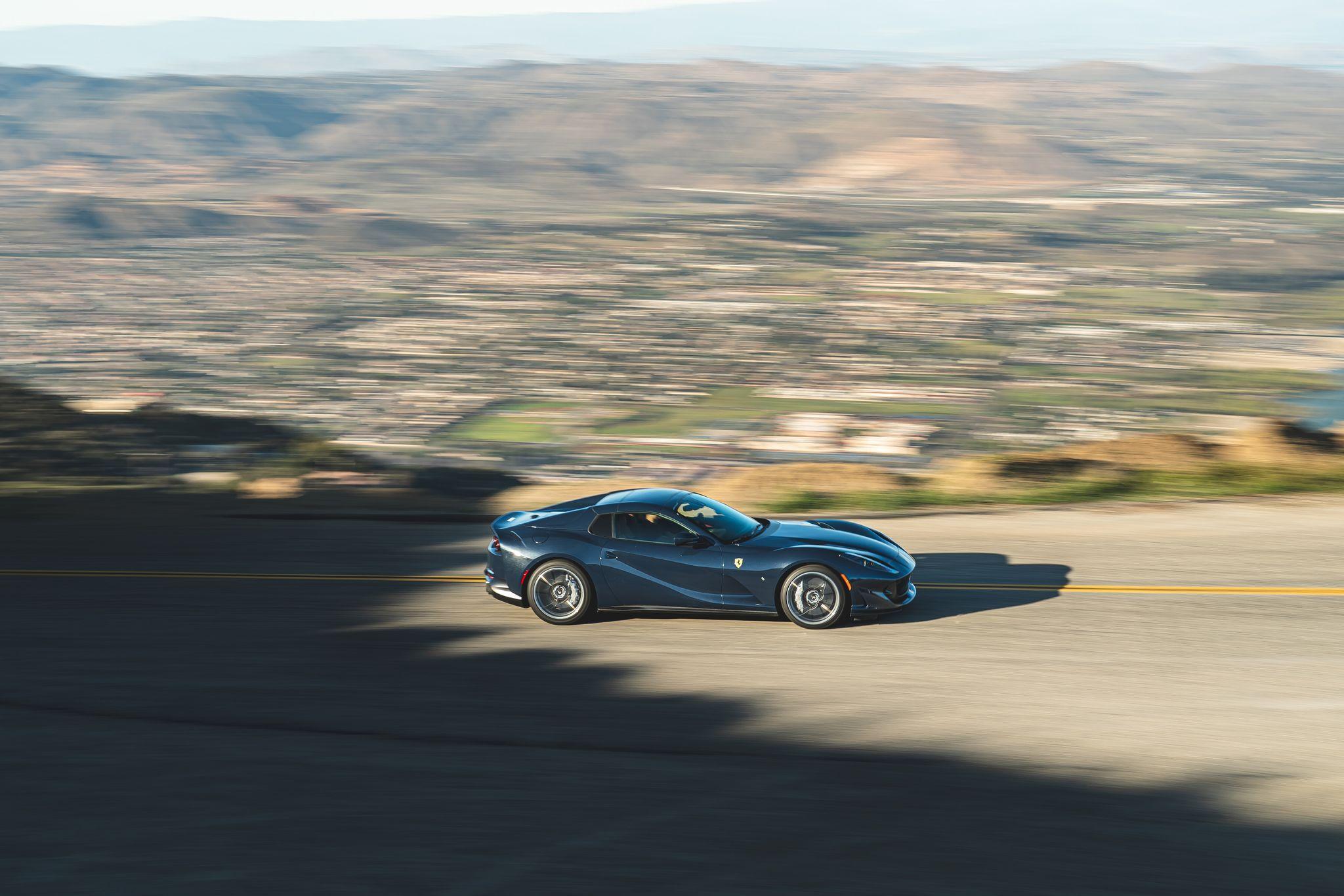 فراری 812 GTS 2021  با قدرتی فوق العاده رونمایی شد