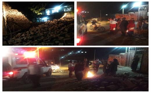 زلزله ۵.۳ ریشتری مریوان را لرزاند/ نیروهای امدادی به منطقه اعزام شدند