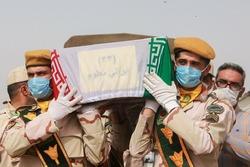 مراسم تبادل و استقبال از ۶۳ شهید تازه تفحص شده جنگ تحمیلی در مرز شلمچه