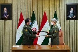 دور دوم مذاکرات وزیر دفاع ایران و تاجیکستان