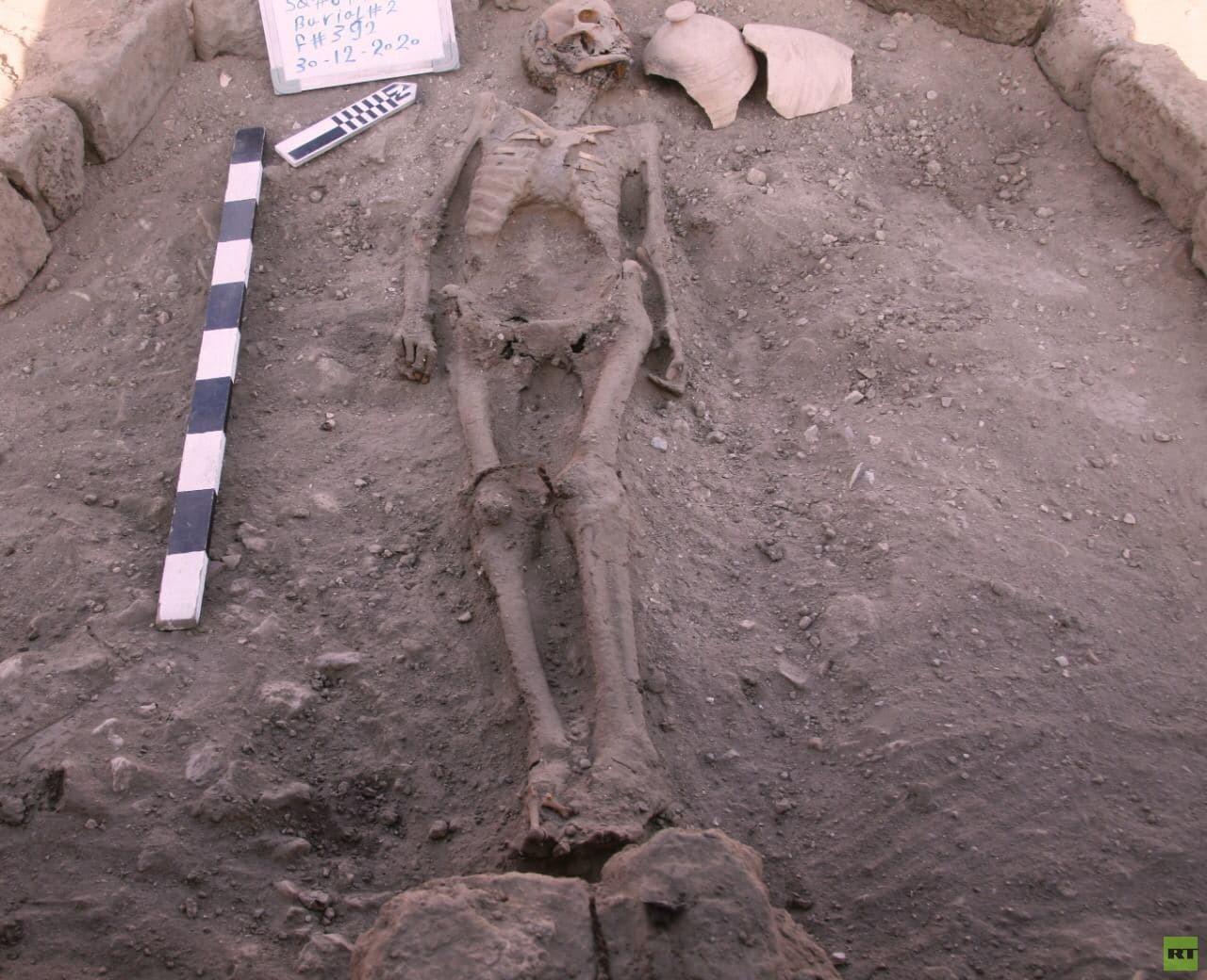 کشف شهر طلایی گمشده ۳۰۰۰ ساله در مصر + تصاویر