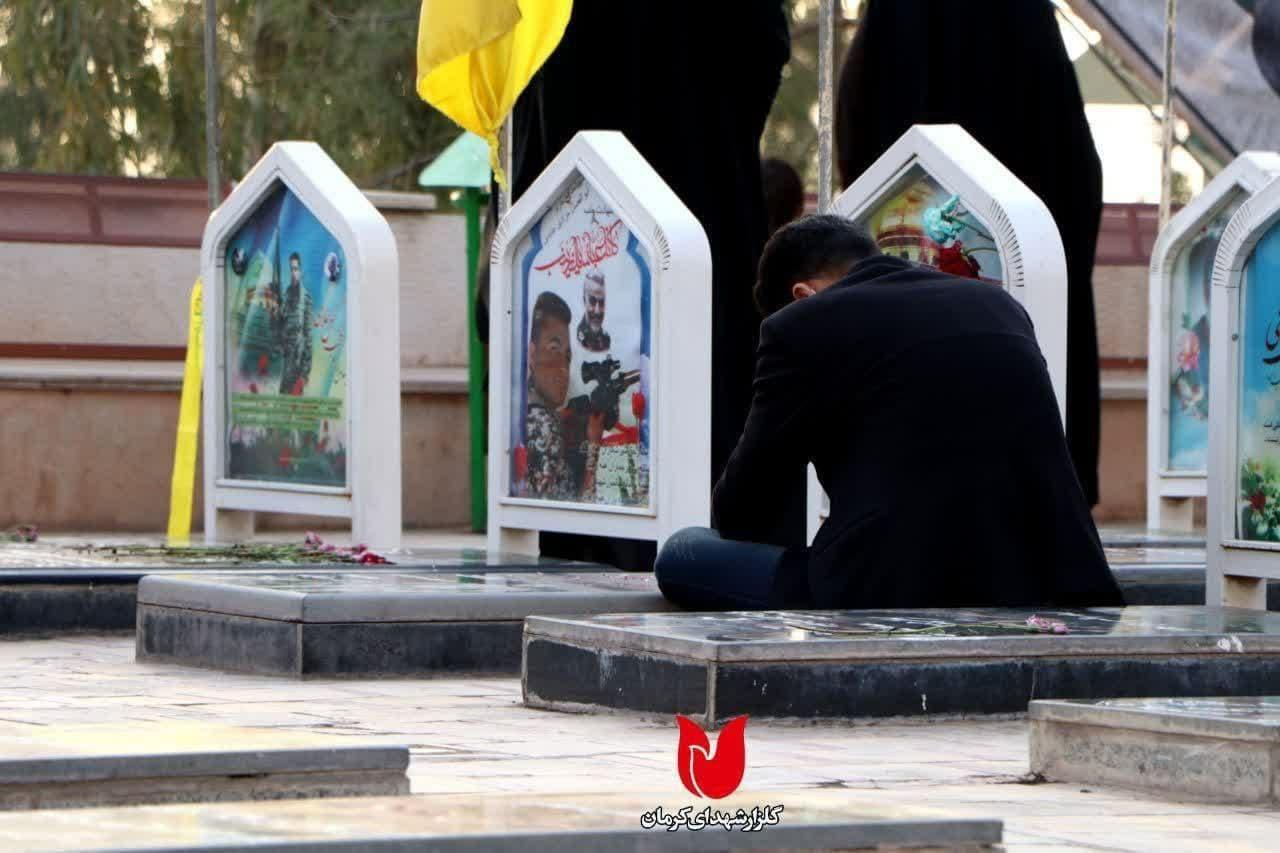 انتشار تصاویری جدید از گلزار شهدای کرمان