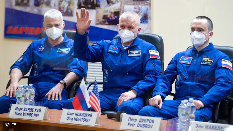پرتاب فضاپیمای سایوز به ایستگاه فضایی بین المللی در گرامیداشت یوری گاگارین+ تصاویر