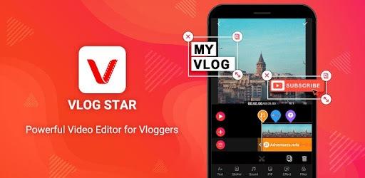 دانلود اپلیکیشن ویرایشگر ویدئو Vlog Star مخصوص اندروید
