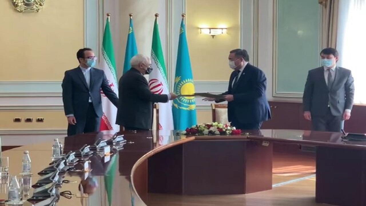 ظریف در ترکمنستان