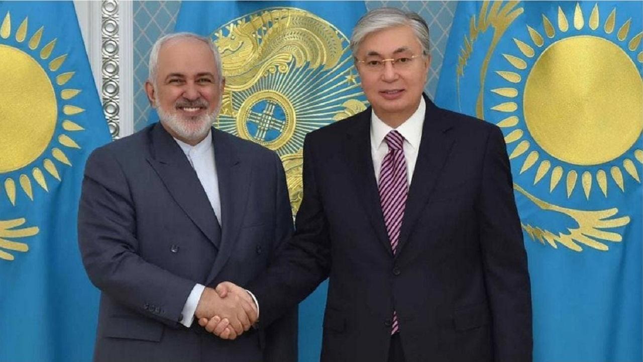 ظریف در قزاقستان
