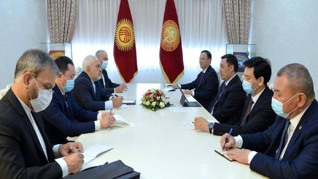 ظریف در قرقیزستان