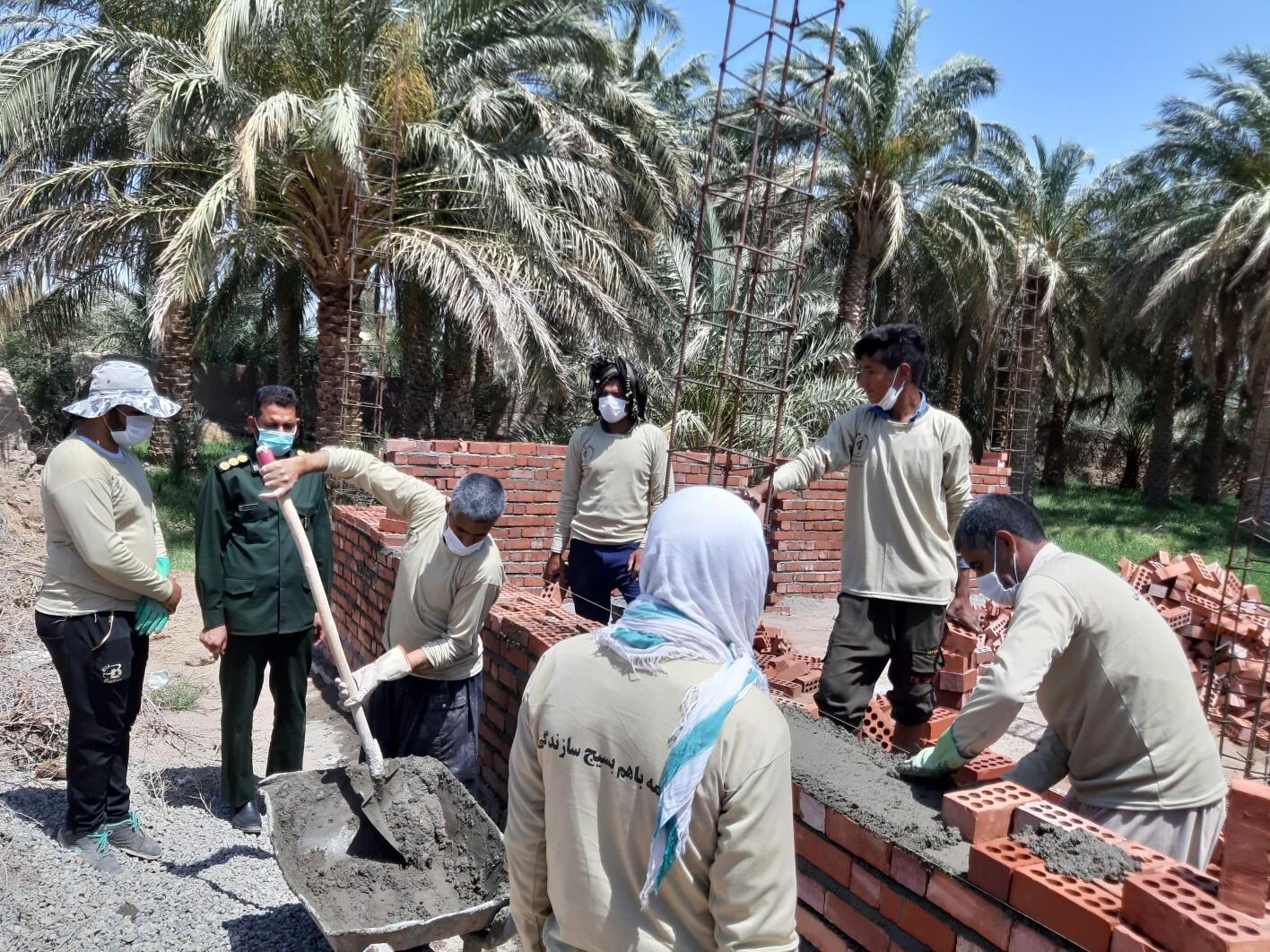 فعالیت ۱۲گروه جهادی در روستاهای محروم ریگان