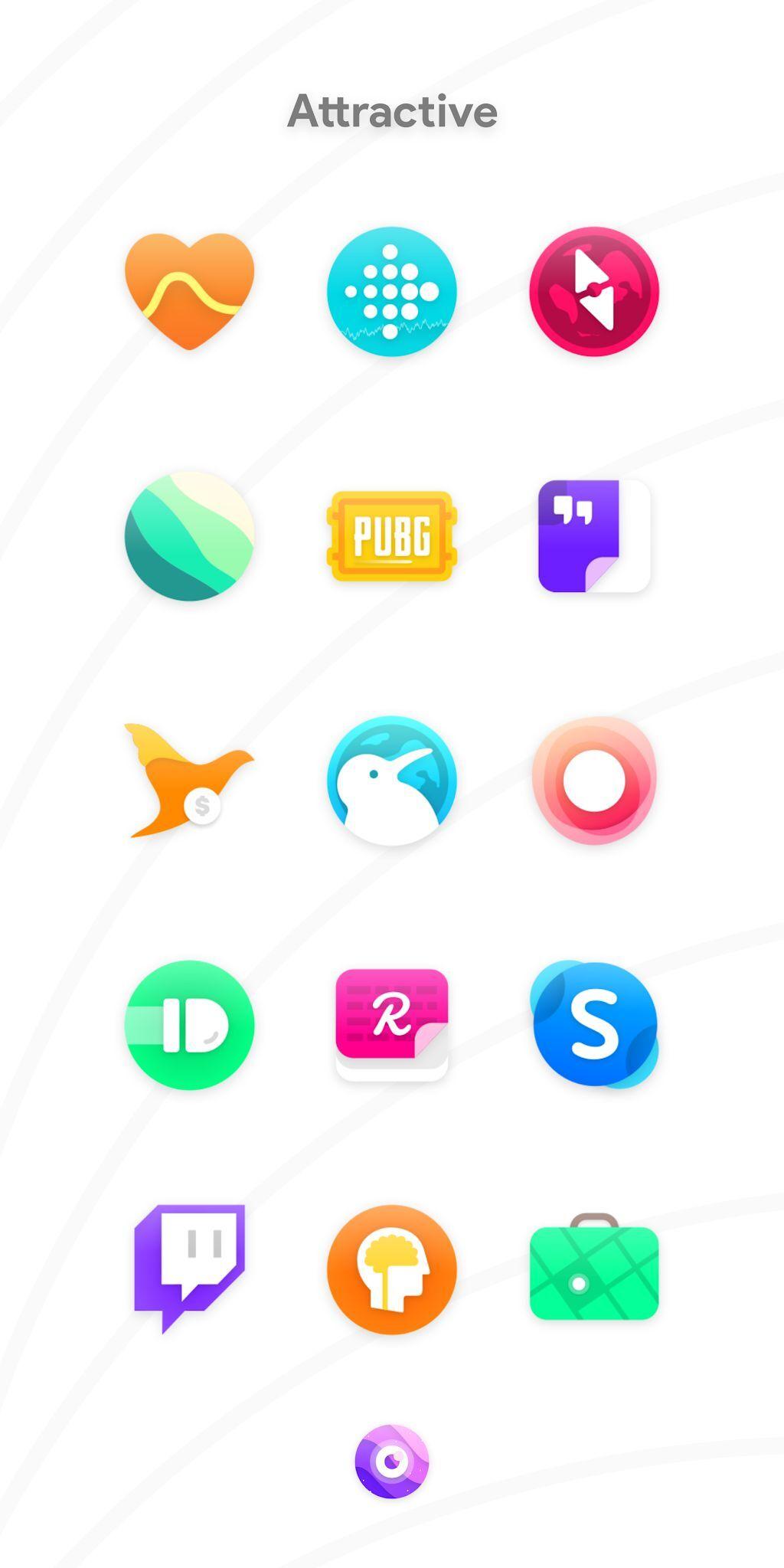 دانلود آیکون پک Nebula Icon Pack 4.4.9