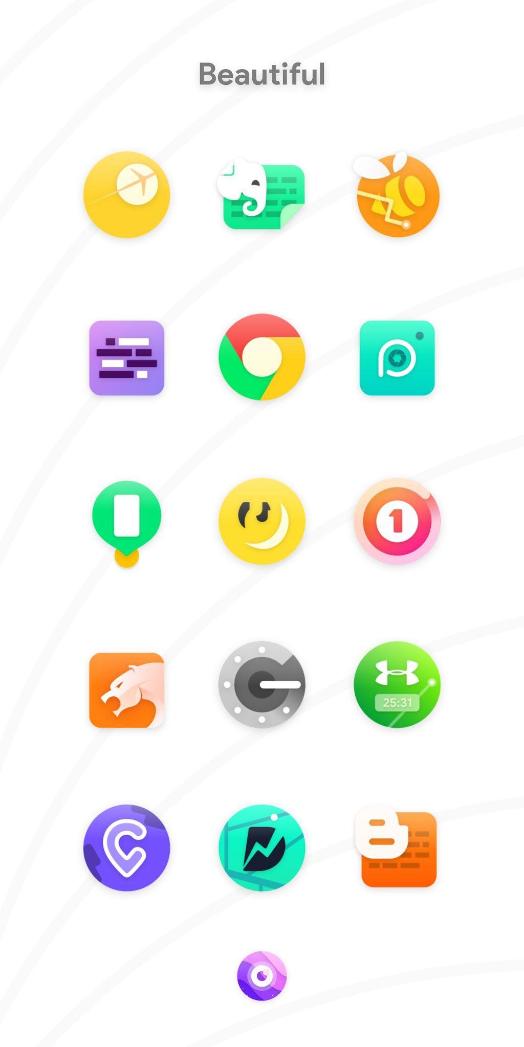 دانلود آیکون پک Nebula Icon Pack 4.4.9 اندروید