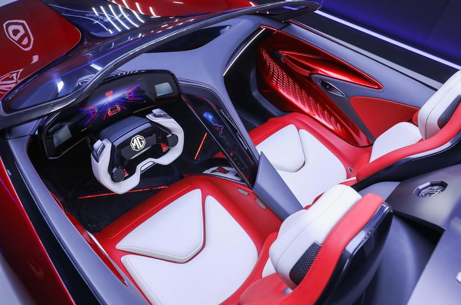 MG رودستر؛ اتومبیل ورزشی EV نشان داده شد