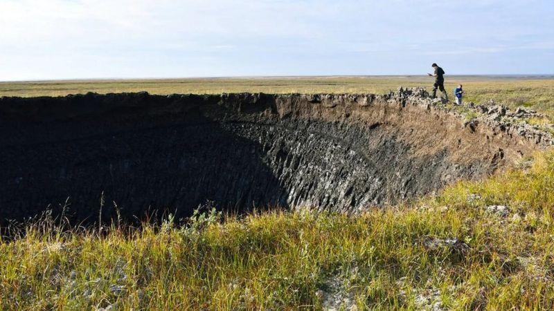 راز حفرههای عجیب انفجاری سیبری چیست؟