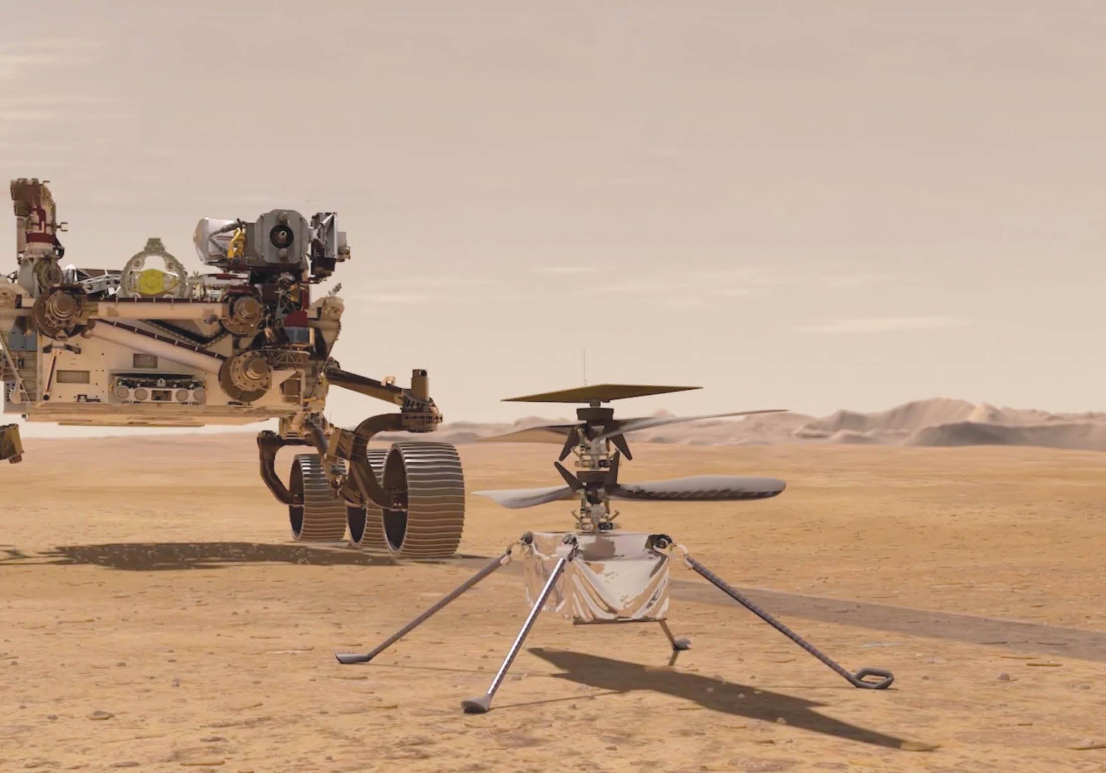 ۷ دقیقه وحشتآفرین در مریخ