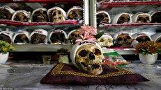 جشن روز جمجمه برای قدردانی از مردگان در بولیوی (+۱۸)