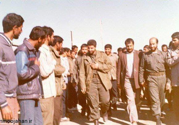 تصویر قدیمی و دیده نشده از شهید حاج قاسم سلیمانی