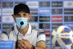 نشست خبری سرمربیان تیم فوتبال پرسپولیس و الوحده امارات
