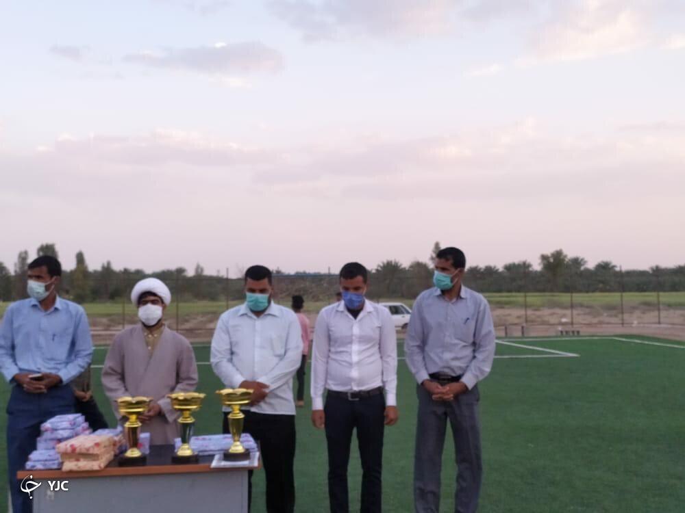 استقلال سعدآباد قهرمان مسابقات فوتبال شهدای سلامتِ شرق کرمان