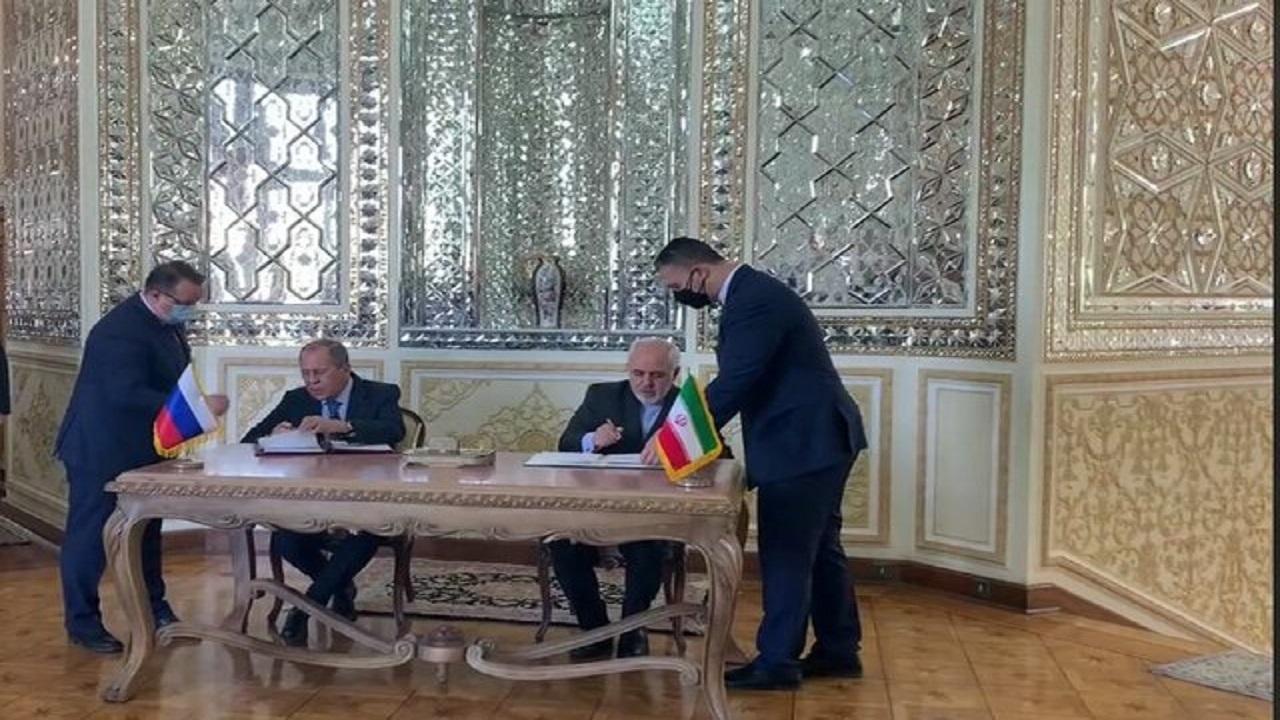 امضای توافقنامه ایران و روسیه
