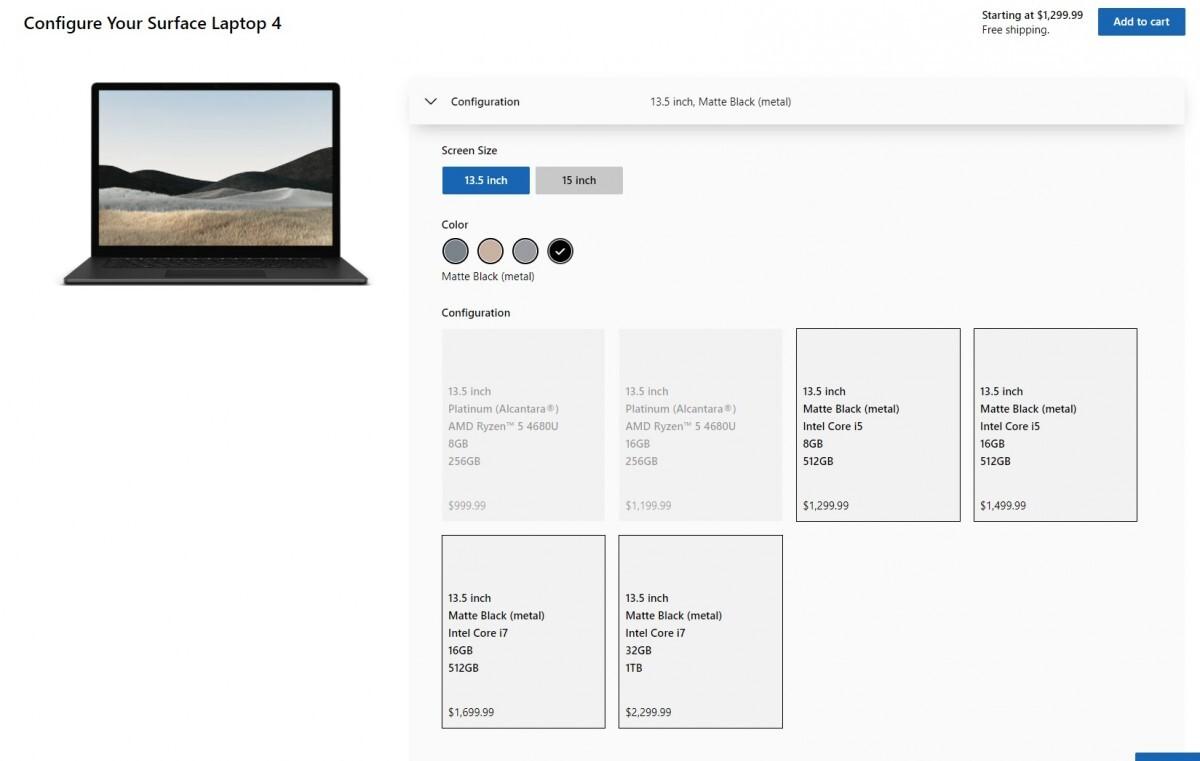تاریخ عرضه لپ تاپ Surface ۴ و پیکربندی نهایی آن