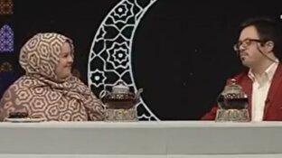 عاشقانههای بازیگر سریال پایتخت برای همسرش در برنامه زنده + فیلم