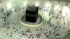 اولین روز رمضان در مکه مکرمه + فیلم