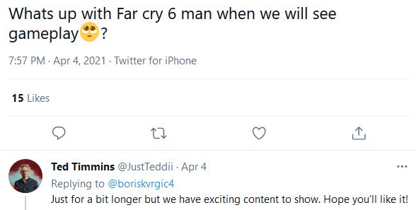توئیت مدیر یوبیسافت
