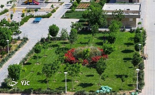 طبیعت بهاری بوستانهای قم +تصاویر