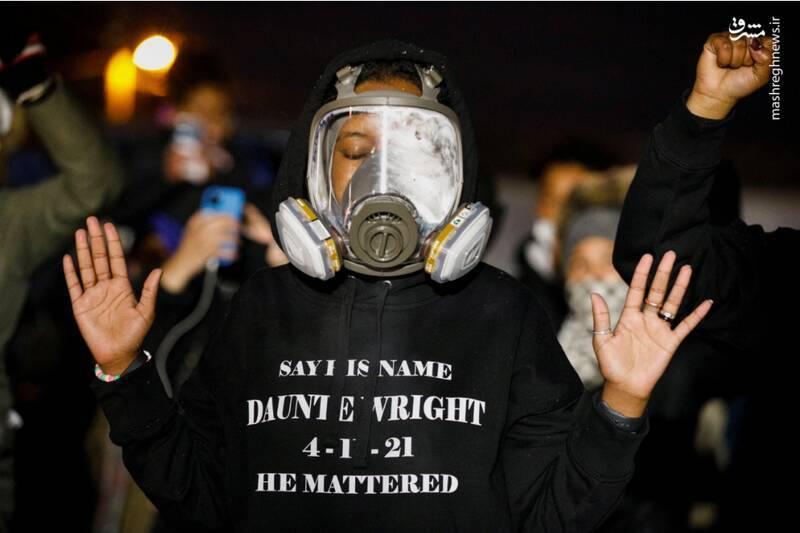 زبانه کشیدن مجدد آتش اعتراضات و ناآرامیها در آمریکا / جامعه آمریکا ازهمگسیخته شده است + تصاویر